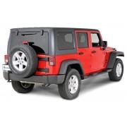 Подножки для 4-х дверного Jeep Wrangler JK  2007-2018