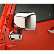 Накладки на зеркала на Jeep Wrangler JK 2007-2018