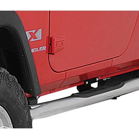 Подножки на Jeep Wrangler JK 2007-2018