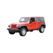 Комплект ответных частей петель для 4-х дверного Jeep Wrangler JK 2007-2018