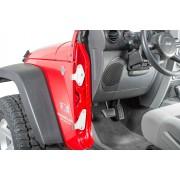 Комплект дверных петель для 2-х дверного Jeep Wrangler JK 2007-2018