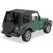 Мягкая крыша Bestop® Supertop®   с тонированными окнами для Jeep Wrangler TJ 1997-2006