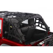 Сетка защитная для 2-х дверного Jeep Wrangler JK. 2007-2018