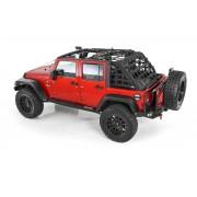 Сетка защитная для 4-х дверного Jeep Wrangler JK. 2007-2018