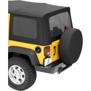 Комплект тонированных окон для 4-х дверного Jeep Wrangler JK 2011-2018
