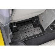 Комплект задних ковриков для 2-х дверного Jeep Wrangler JK 2007-2010.