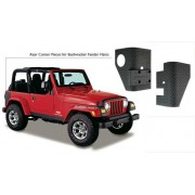 Защита задних крыльев на Jeep Wrangler TJ