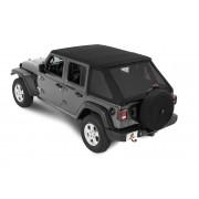 Крыша Bestop® Trektop NX для  Jeep Wrangler JL,4-х дверного