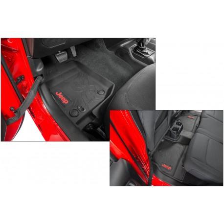 Комплект оригинальных ковров для 2-х дверного Jeep Wrangler JL 2018+
