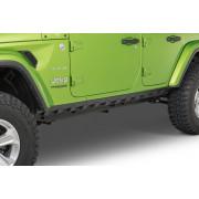Комплект  накладок фальш-порогов для 4-х дверного Jeep Wrangler JL 2018+