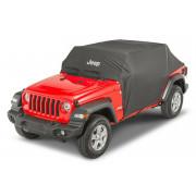 Тент защитный для 4-х дверного Jeep Wrangler JL 2018+