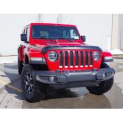 Дефлектор капота для Jeep Wrangler JL 2018+