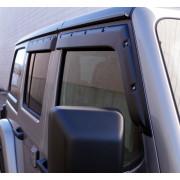 Комплект ветровиков для 4-х дверного Jeep Wrangler JL 2018+